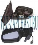 Зеркало боковое XRAY электро левое без накладки 963029600R