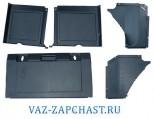 Обивка багажника 2108 комплект 5 частей 21080-5402232\33\30\31\10